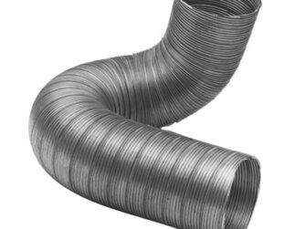 Conduit flexible semi-rigide galva