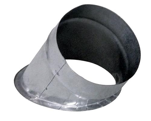 Piquage plat circulaire 45°