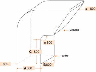 sortie de toiture Type 1