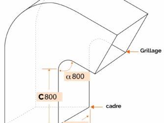 sortie de toiture Type 2