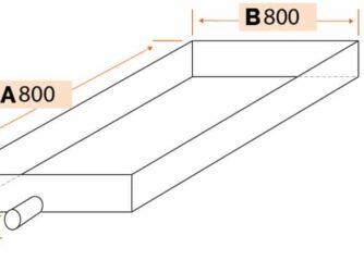 bac de condensation