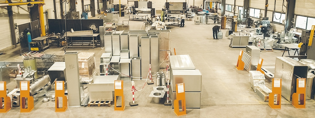 Atelier de production - Fabrication - Tôlerie industrielle